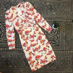 Vintage Valentino Floral Dress